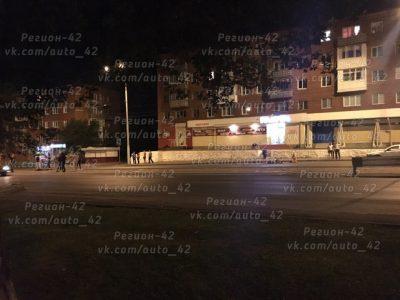 В Кемерове водитель мотоцикла Yamaha сбил мужчину на пешеходном переходе