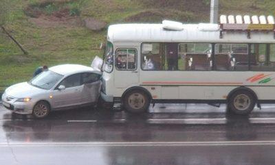 Кемеровский водитель чудом избежал лобового столкновения: комментарий ГИБДД