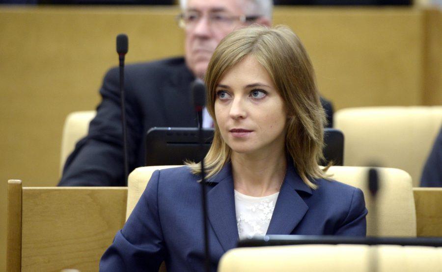 Наталья Поклонская записала видеообращение к губернатору Кузбасса Аману Тулееву