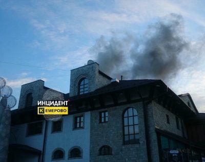 Посетителей кемеровского ресторана «Волна» эвакуировали из-за задымления