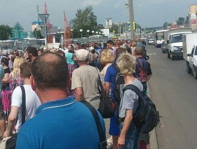 Фото: в Кемерове эвакуировали автовокзал