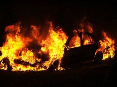 В минувшие выходные в Кузбассе горели четыре автомобиля