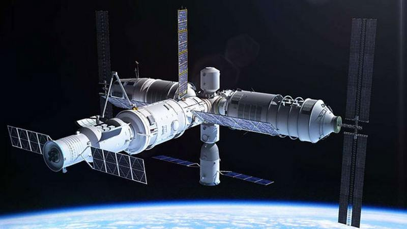 Китайская орбитальная станция рухнет наЗемлю в последующем 2018г