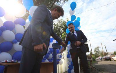 Фото: в Томске торжественно открыли колонку с водой