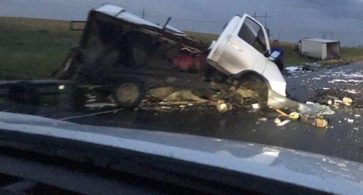 Кемеровчанин за рулём Scania попал в ДТП в Новосибирской области