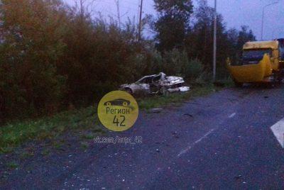 ГИБДД: в Кузбассе на трассе в тройном ДТП с участием автоцистерны погиб один человек