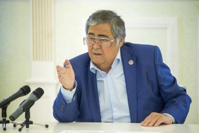 Аман Тулеев поздравил кузбассовцев с Днём шахтёра в видеообращении
