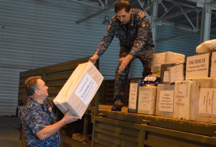 Кузбасские полицейские, служащие на Северном Кавказе, получат подарки в канун Дня шахтёра
