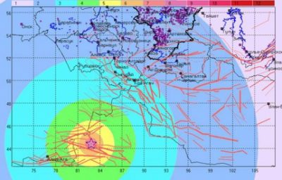 Новокузнечане почувствовали отголоски китайского землетрясения