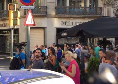 При теракте в Барселоне пострадалижители минимум 18 стран