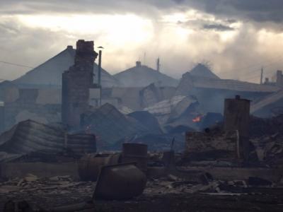 Кузбассовец, из-за которого сгорели семь домов, стал фигурантом уголовного дела