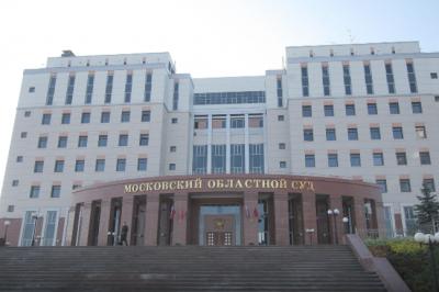 В Сети опубликовали видео с места перестрелки в здании Мособлсуда