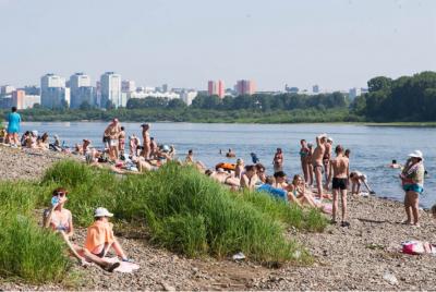 Какие кузбасские пляжи признали непригодными для купания