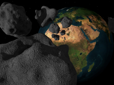 В октябре астероид размером с дом пролетит рядом с Землёй