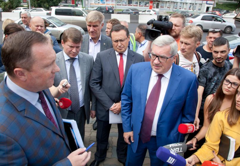 «Колёса колол бы всем»: как глава Красноярского края предложил бороться с нарушителями ПДД