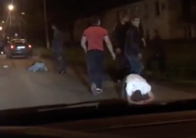 В Сети появилось видео массовой драки в Кировском районе Кемерова