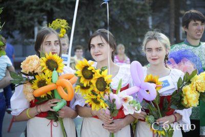 В столице Кузбасса прошёл «Карнавал цветов»