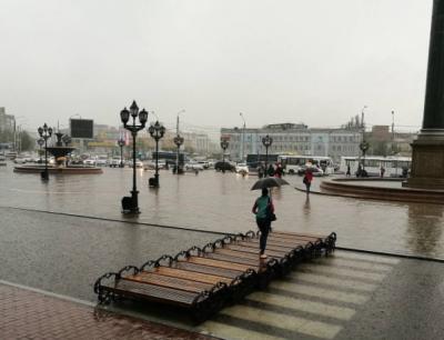 Фото: в Красноярске из-за сильного ливня объявили чрезвычайную ситуацию