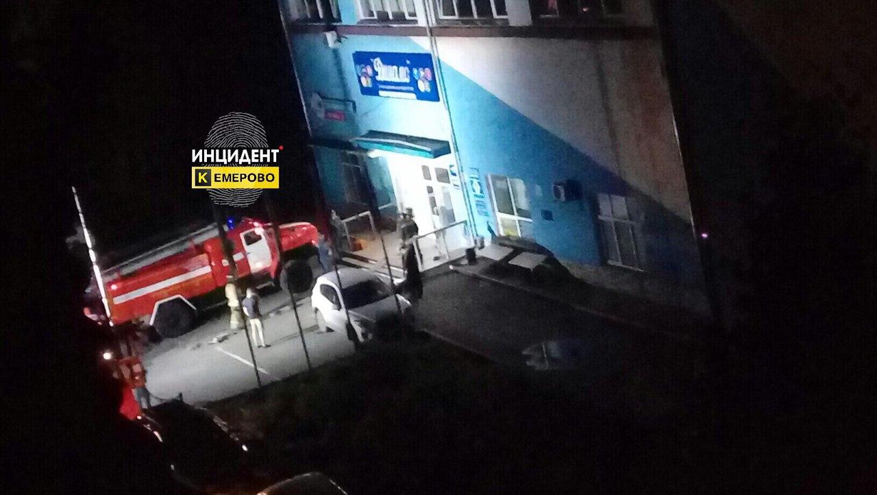 Ночью в Кемерове в здании «Динамо» произошло короткое замыкание