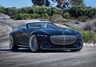 Mercedes показал роскошный шестиметровый кабриолет на элеткротяге