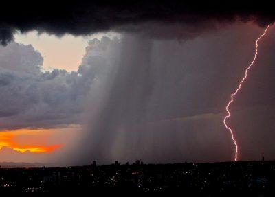 МЧС: в Кузбассе ожидаются сильные дожди и грозы