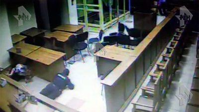 В Сети появилось видео перестрелки с «бандой ГТА» в Мособлсуде