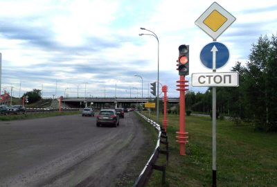 В каком режиме будет работать светофор на перекрёстке Притомский – Терешковой в Кемерове