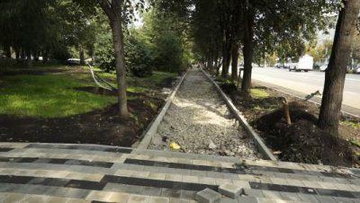 В Кемерове на бульваре Строителей появится велодорожка длиной в 2 километра