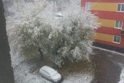 Синоптики назвали причину снегопадов в Кузбассе
