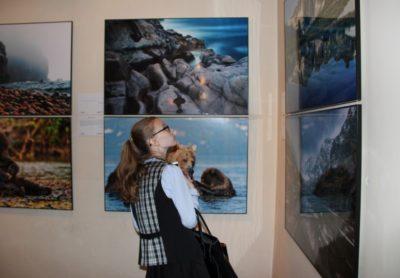 Кузбасские школьники посетили выставку «Первозданная Россия»