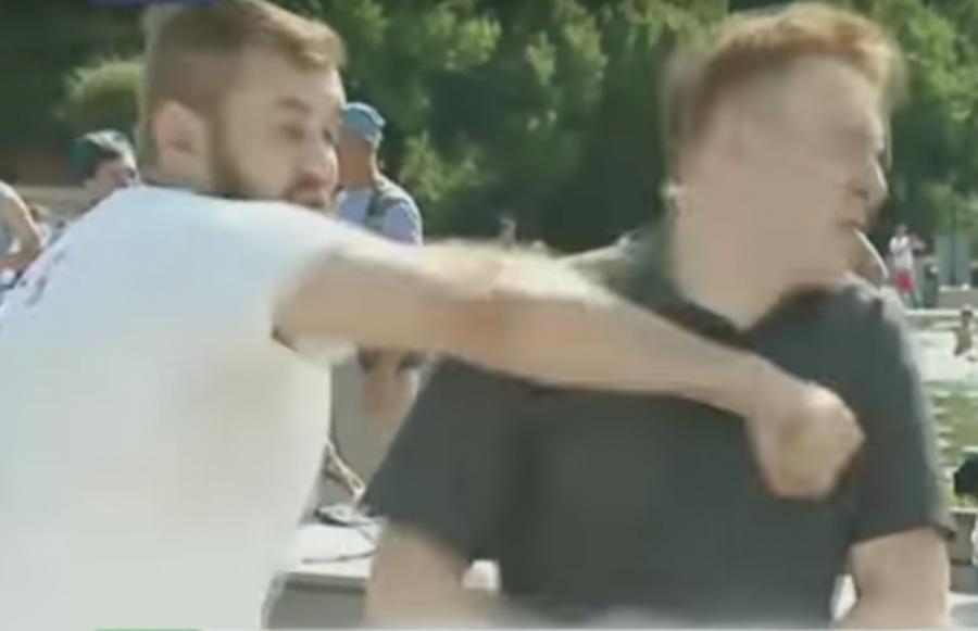 Ударивший репортера НТВ «десантник» раскрыл гонорар засъемки в«Пусть говорят»