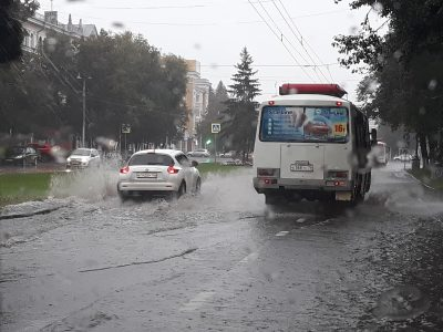 Ливневую канализацию на проспекте Советском в Кемерове планируют реконструировать