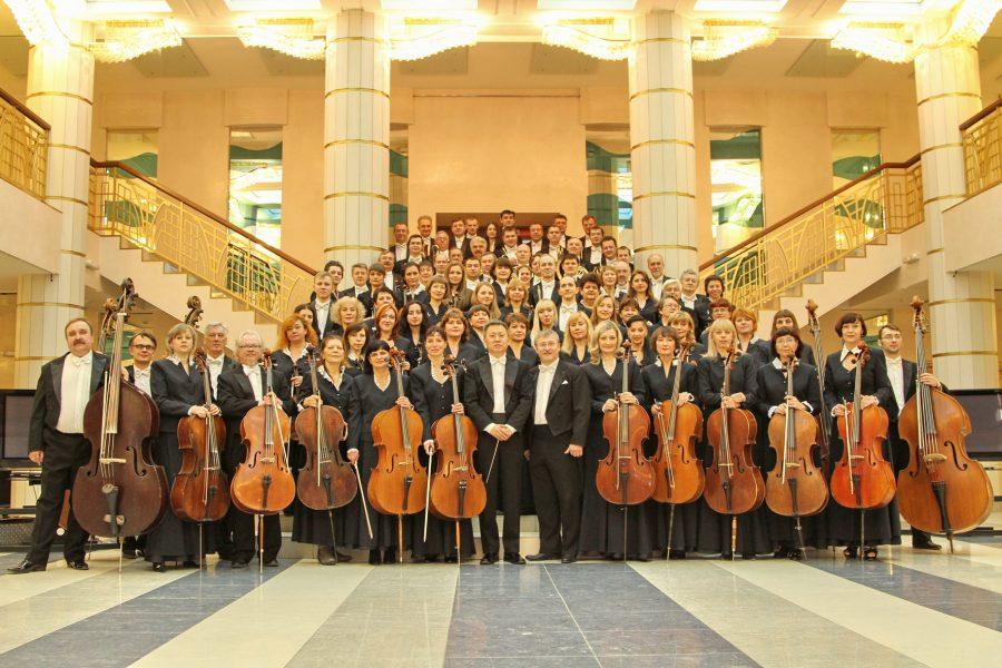 Губернаторский симфонический оркестр Кузбасса отправился на гастроли в Китай