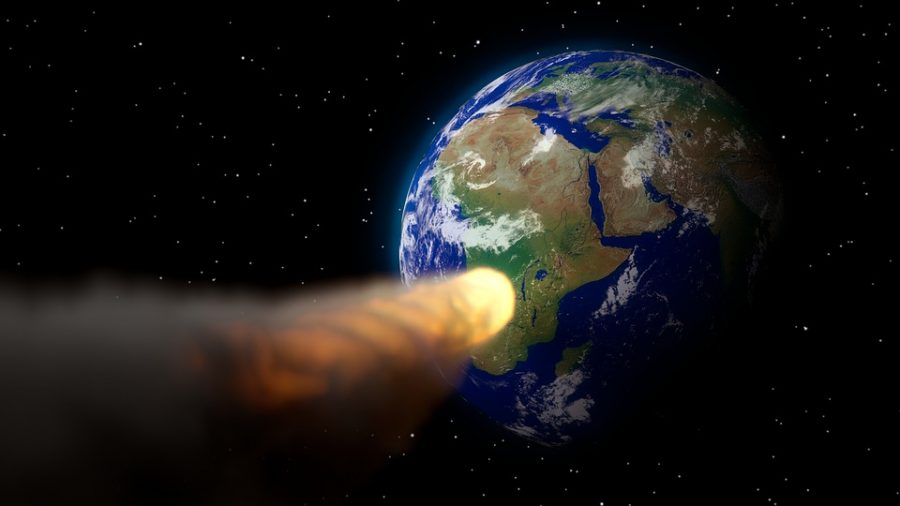 Астероид в два раза больше челябинского метеорита летит к Земле