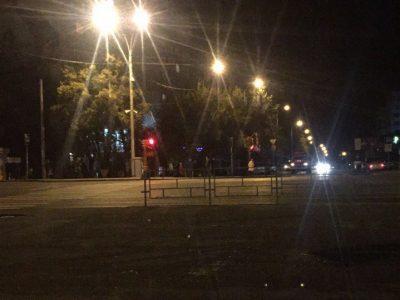 В Кемерове ночью эвакуировали общежитие из-за подозрительного пакета