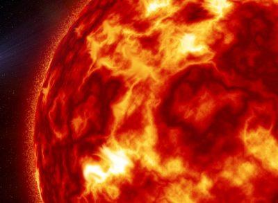 Впервые за 12 лет на Солнце произошла мощная вспышка
