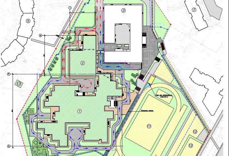 Школу сдвумя бассейнами за1,2 млрд руб. построят вКемерово