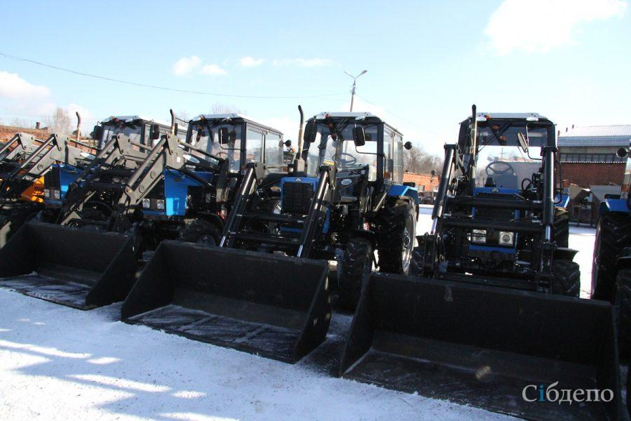 ВКемерове закупили дорожную технику на300 млн руб.