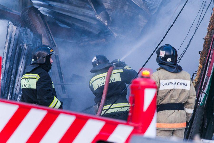 За день в Кузбассе при пожарах погибли два человека