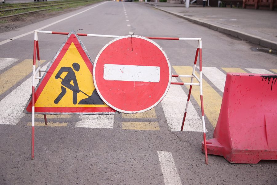 В Кемерове установили чёткий график ремонта дороги на Нахимова