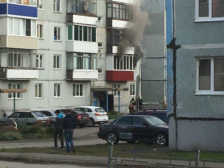 За день в Кузбассе при пожарах спасли 14 человек, в том числе двоих детей