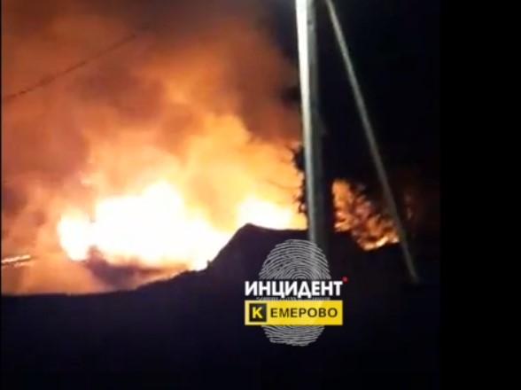 Следком организовал проверку по факту гибели пенсионера на пожаре в Кемеровском районе