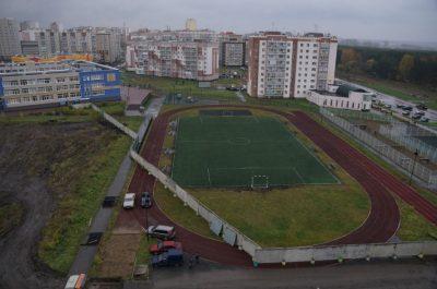 Прокуратура проводит проверку по факту заграждения школьного стадиона в Кемерове