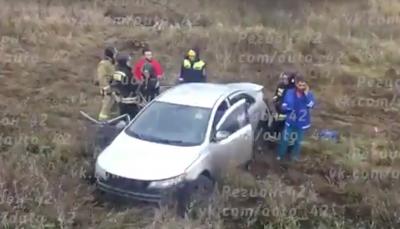 В Кузбассе при столкновении Kia Forte и Daewoo Nexia погибли два человека