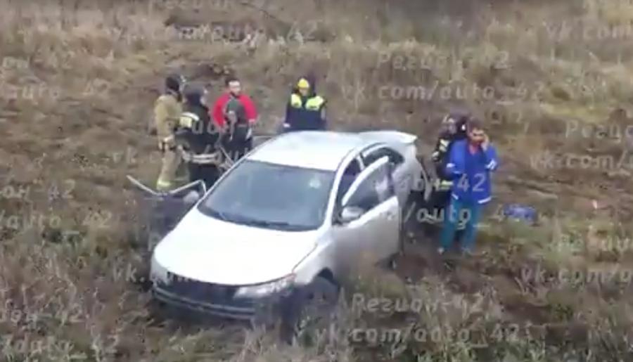 ВКузбассе при столкновении Киа Forte и Дэу Nexia погибли два человека