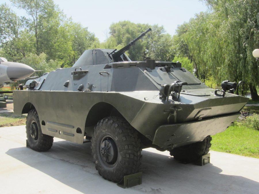 Житель Челябинска выставил на продажу броневик за 750 тыс. рублей