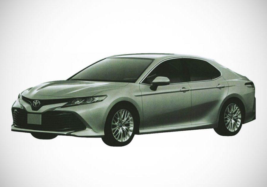 Опубликованы изображения новой Toyota Camry для России