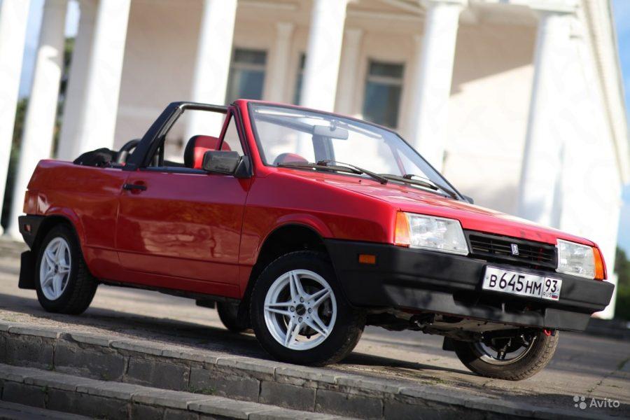 ВАЗ-2108 вкузове кабриолет предлагают за1 млн руб.