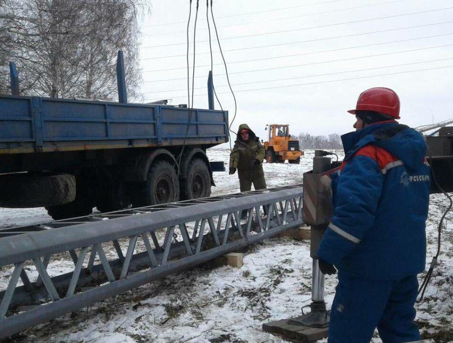В Кузбассе прошли учения по ликвидации последствий массовых электроотключений из-за шторма