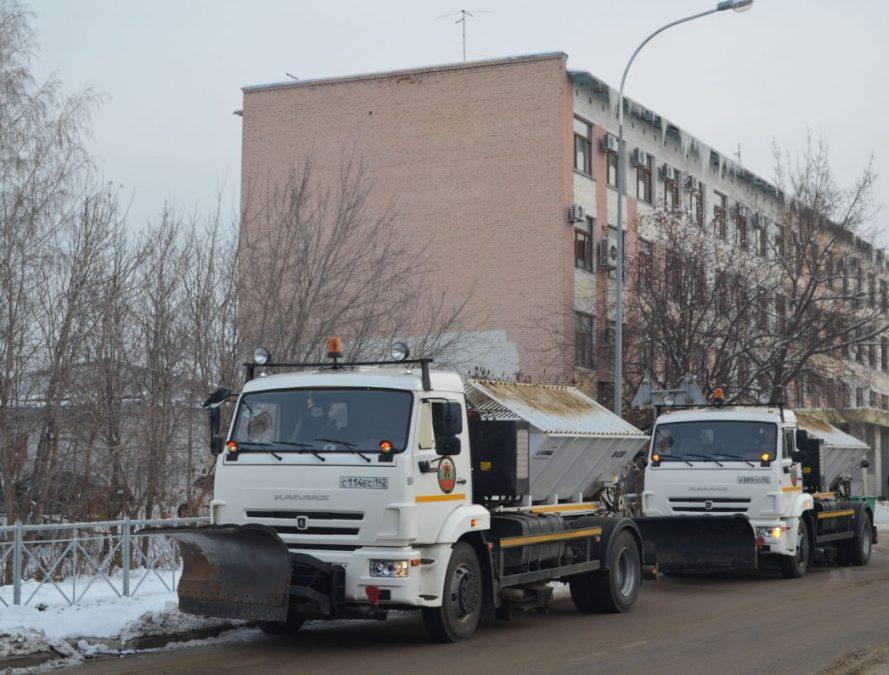Два муниципалитета Кузбасса получили дополнительную технику для снегоуборочных работ